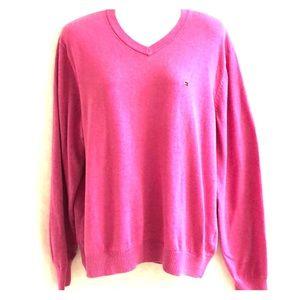 Tommy Hilfiger sweater pink sz L